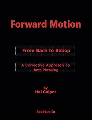 Forward motion book by Hal Galper