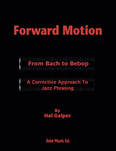 Forward motion book by Hal Galper