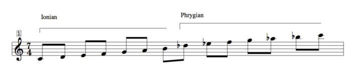 Scale extensions for jazz 13 note scale