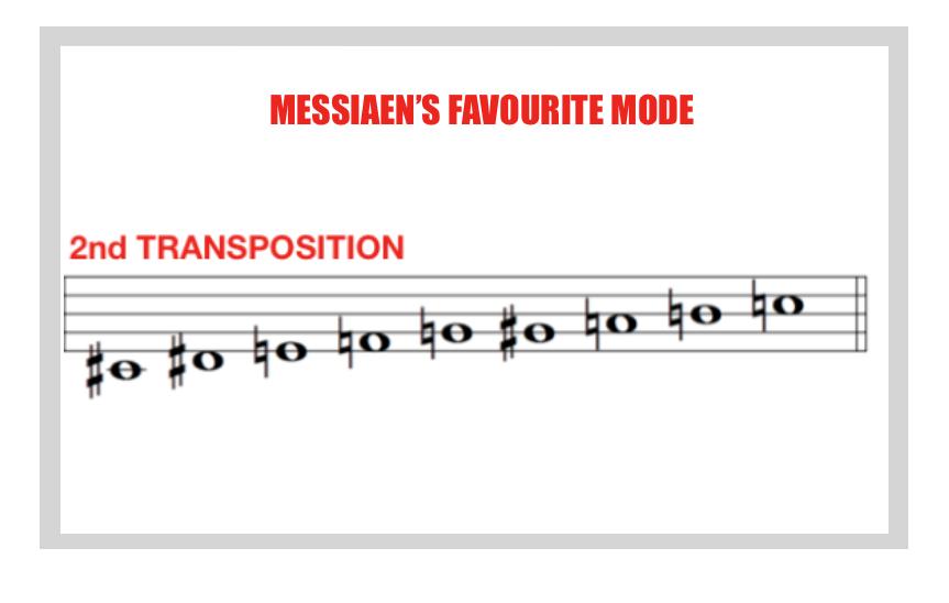 messiaen's favourite mode lesson