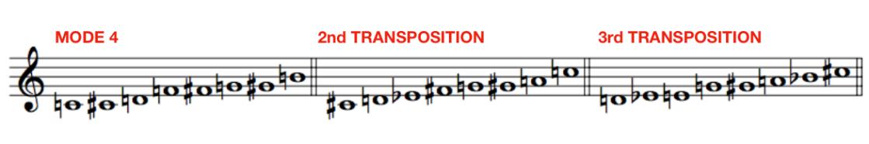 Messiaen Mode 4