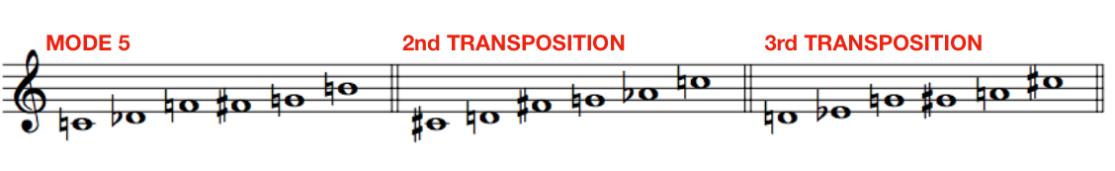 Messiaen Mode 5