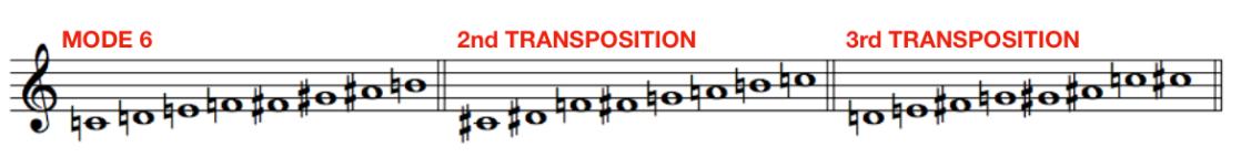 Messiaen Mode 6
