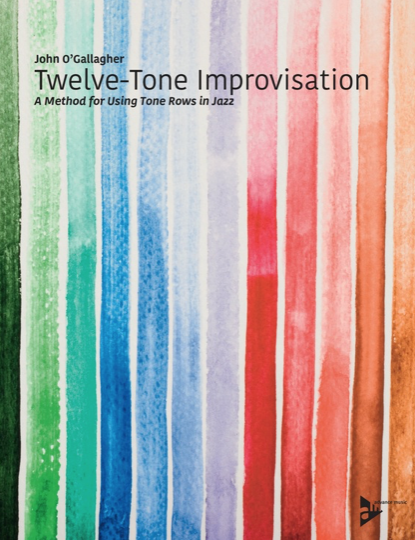 A Method for using tone rows in jazz book cover