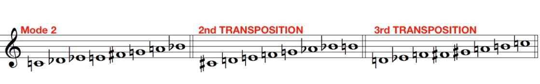 Messiaen octatonic mode 2