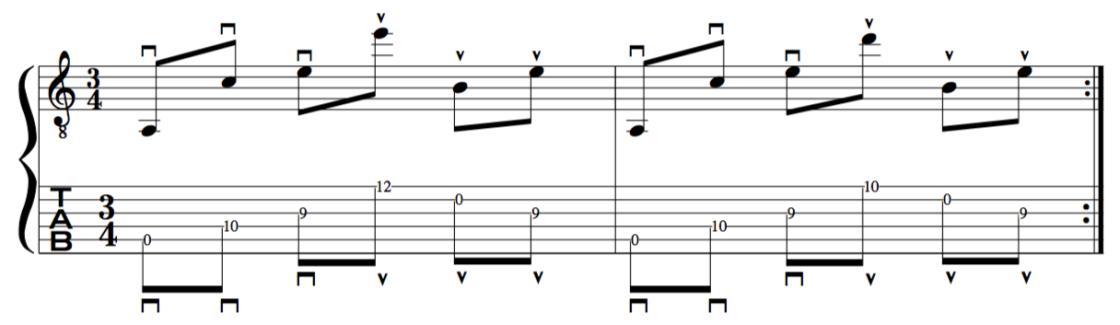 Al di Meola chordal picking guitar technique lesson