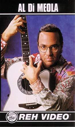 Al Di Meola REH Guitar video