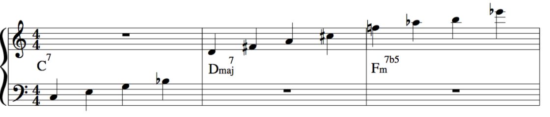 major 23rd chord example for music jazz improvisation