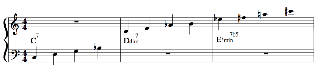 minor 23rd chord jazz improvisation lesson tertian harmony