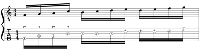 alternate picking john mclaughlin lesson belo herozonte