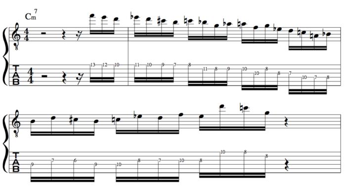 Don Mock Jazz Improvisation guitar lesson