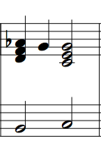 Diminished 7th chords for cadences