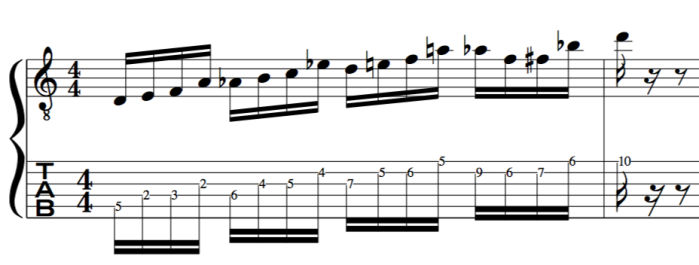 flat 5 substitution b5 sub Dave Liebman Chromatic approach to jazz line