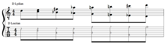 Polymodal scale example