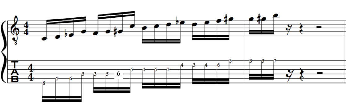 melodic minor bebop scale jazz improvising examples
