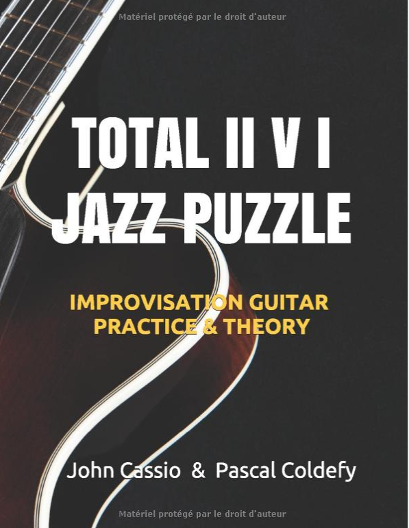 TOTAL II V I JAZZ PUZZLE: Improvisation Guitar Practice & Theory