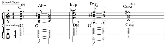 Reharmonizing VI II V I chord sequence