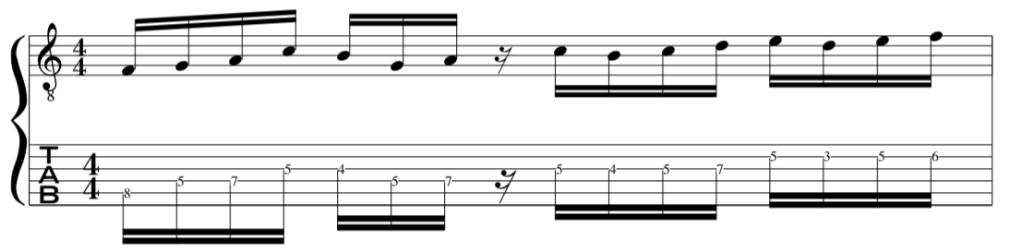 John Mclaughlin Guitar Lick